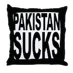 Pakistan Sucks Throw Pillow