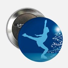 "Holiday Skater 2.25"" Button"