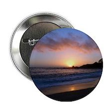 "Carmel Beach Sunset 2.25"" Button"