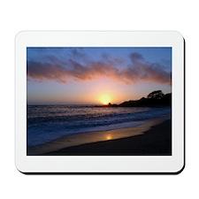 Carmel Beach Sunset Mousepad
