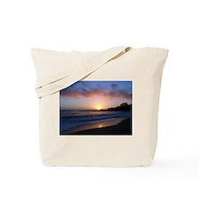 Carmel Beach Sunset Tote Bag