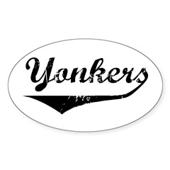 Yonkers Oval Decal