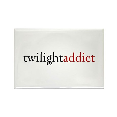 twilight addict (2) Rectangle Magnet