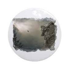 Old Man of the Mountain Ornament (Round)