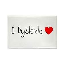 Dyslexia Rectangle Magnet