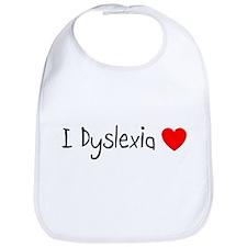 Dyslexia Bib