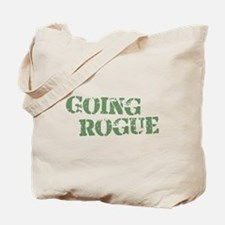 Military Going Rogue Tote Bag