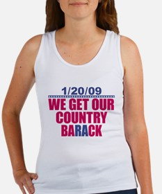 Our Country Back Women's Tank Top