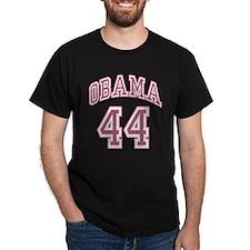 Obama 44th President pnk T-Shirt