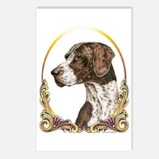 German Shorthaired Christmas Postcards (8 Pack)