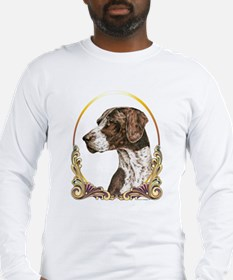 German Shorthaired Christmas Long Sleeve T-Shirt