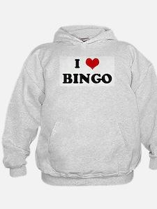 I Love BINGO Hoodie