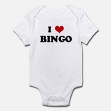 I Love BINGO Infant Bodysuit