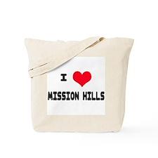 Mission Hills Love Tote Bag