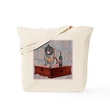 Monastic Cairn Terrier Tote Bag