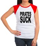 Pirates Suck Women's Cap Sleeve T-Shirt