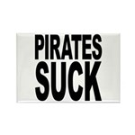 Pirates Suck Rectangle Magnet (100 pack)