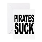 Pirates Suck Greeting Card