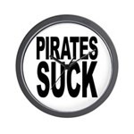 Pirates Suck Wall Clock