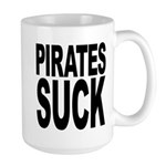 Pirates Suck Large Mug
