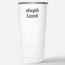 Stupid Lamb Twilight Travel Mug