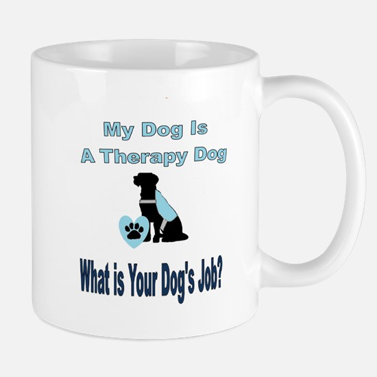 Therapy dog male Mugs