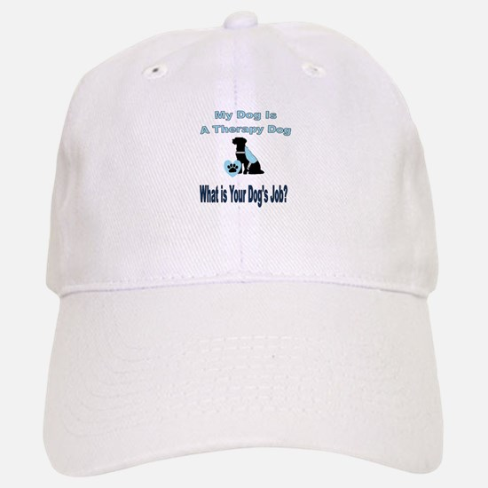 Therapy dog male Baseball Baseball Baseball Cap