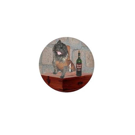 Monastic Cairn Terrier Mini Button (10 pack)