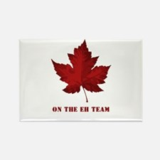 On the EH Team! Oh Canada! Rectangle Magnet