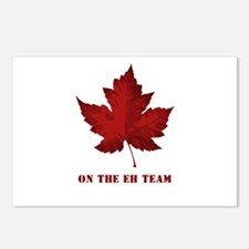 On the EH Team! Oh Canada! Postcards (Package of 8