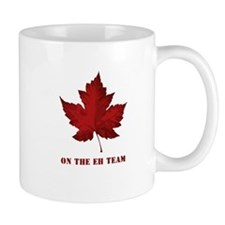 On the EH Team! Oh Canada! Small Mugs