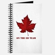On the EH Team! Oh Canada! Journal
