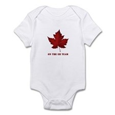 On the EH Team! Oh Canada! Infant Bodysuit