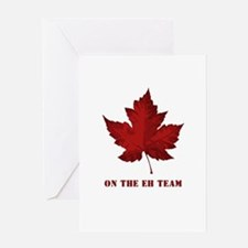 On the EH Team! Oh Canada! Greeting Card