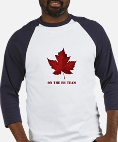 On the EH Team! Oh Canada! Baseball Jersey