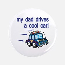 """Police Officer's Kids 3.5"""" Button"""