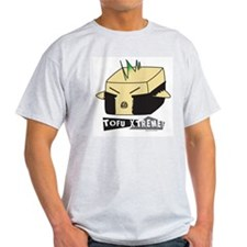 Punk Tofu Ash Grey T-Shirt