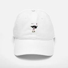 Ostrich Baseball Baseball Cap