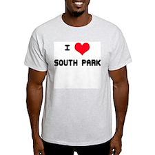 South Park Love Ash Grey T-Shirt