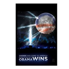 Funny Win obama Postcards (Package of 8)
