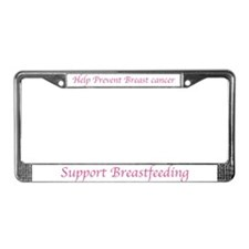 Cute Cancer's License Plate Frame