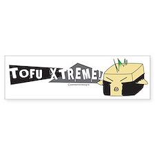 Punk Tofu Bumper Bumper Sticker