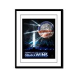 Framed Obama Victory Print