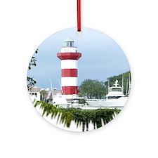 Hilton Head Lighthouse Ornament (Round)