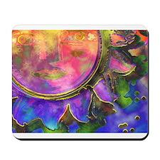 batik sun Mousepad