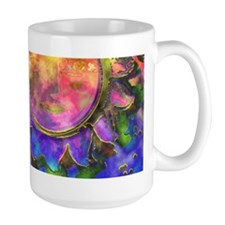 batik sun Mug