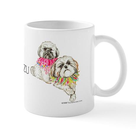 Two Shih Tzu! Mug