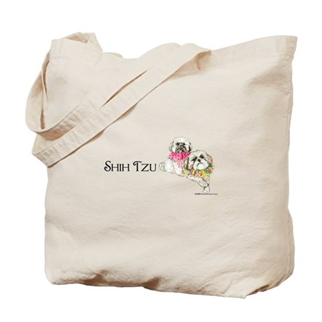 Two Shih Tzu! Tote Bag