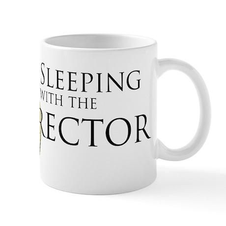 Sleeping With the Director Mug