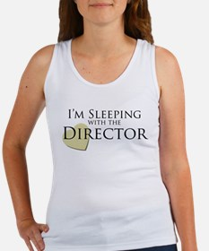 Sleeping With the Director Women's Tank Top